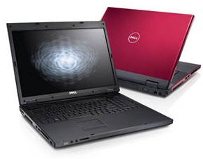 Dell laptop with webcam