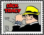 Dick Tracy stamp